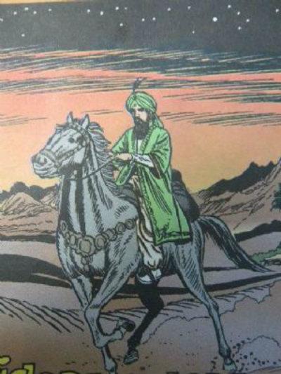 Artabán, el cuarto Rey Mago que se perdió en el camino a Belén   De10