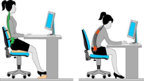 Tips para mejorar tu postura en la oficina al usar tu for La oficina telefono
