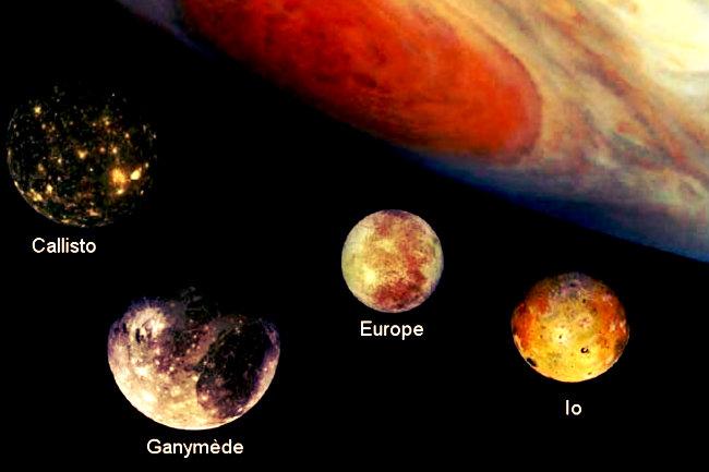 Resultado de imagen de Vida simple en algunas lunas de júpiter y saturno