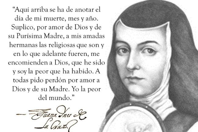 La Poesia De Sor Juana Ines Dela Cruz Colección De Poesía