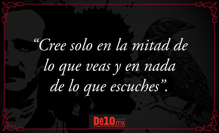10 Frases Para Entender El Terror De Edgar Allan Poe De10