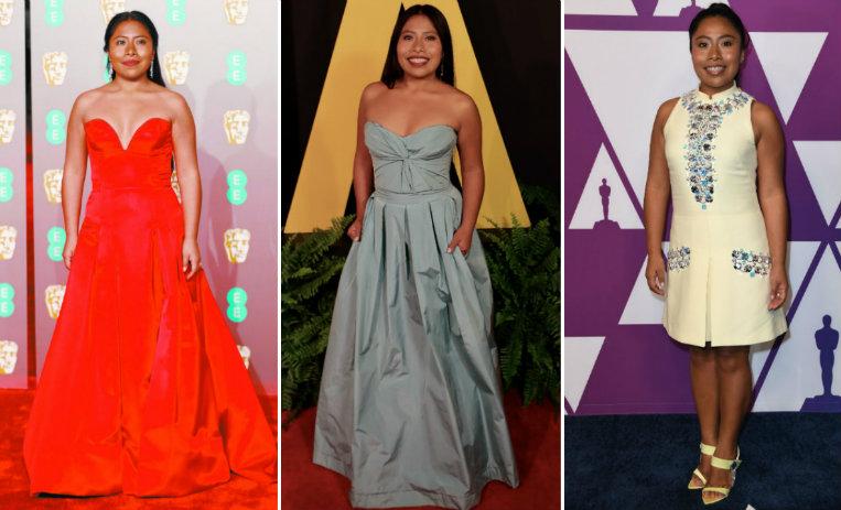 10 Hermosos Vestidos Que Yalitza Aparicio Ha Lucido De10