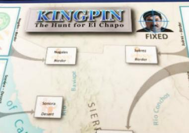 Juego de mesa, Kingpin: The Hunt for El Chapo,