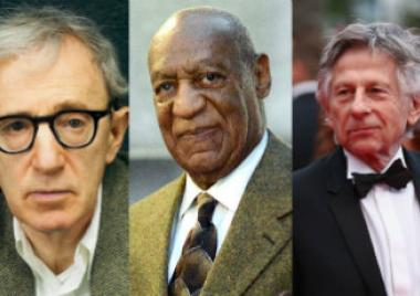 Woody Allen, Bill Cosby Jr., Roman Polanski,