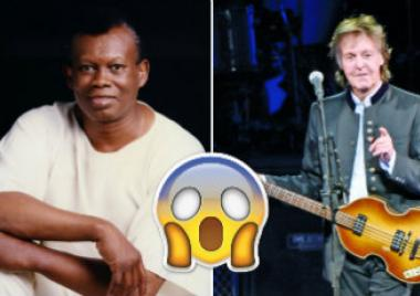 Johnny Laboriel, Paul McCartney, música, rock, The Beatles, conexión,