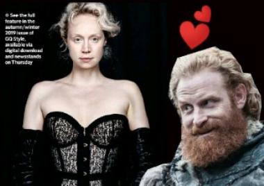 gwendoline christie, brienne de tarth, Game of Thrones, fotos sexy, revista gq, fotos en lenceria, sesión sexy