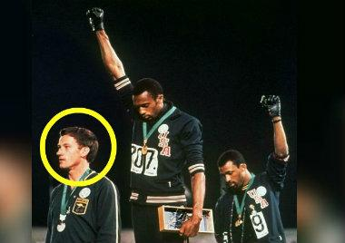 Peter Norman, el héroe blanco del Black Power en México 68