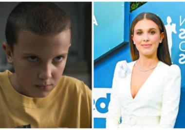 La transformación de Millie Bobby Brown