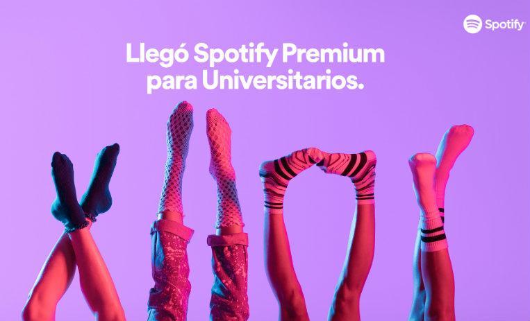 Suscripción de Spotify a mitad de precio… para estudiantes
