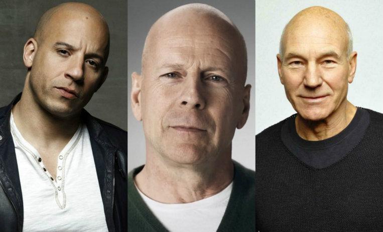 Imágenes actores pelados famosos fotos hombres calvos graciosos