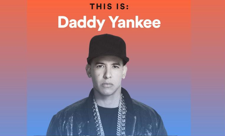El artista Daddy Yankee número uno global en Spotify — King Daddy