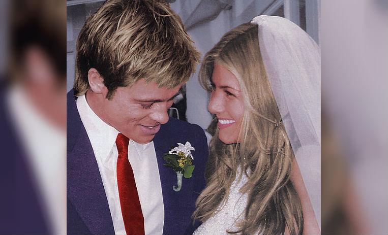 Resultado de imagen para brad pitt y jennifer aniston boda