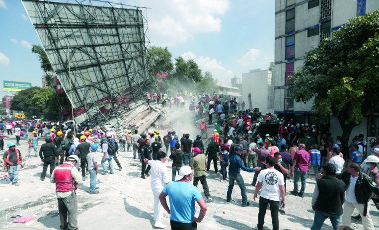 Sismo del 19s fue 30 veces menor al del 85: UNAM