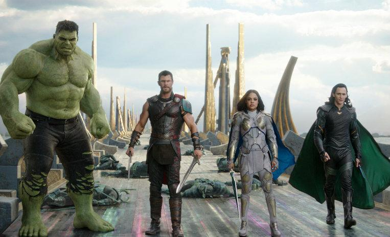 Thor domina las taquillas en las salas de cine