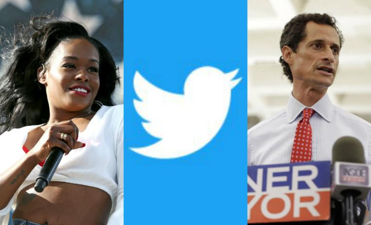 azealia banks, anthony wiener, twitter, tuits polemicos, tweets polemicos