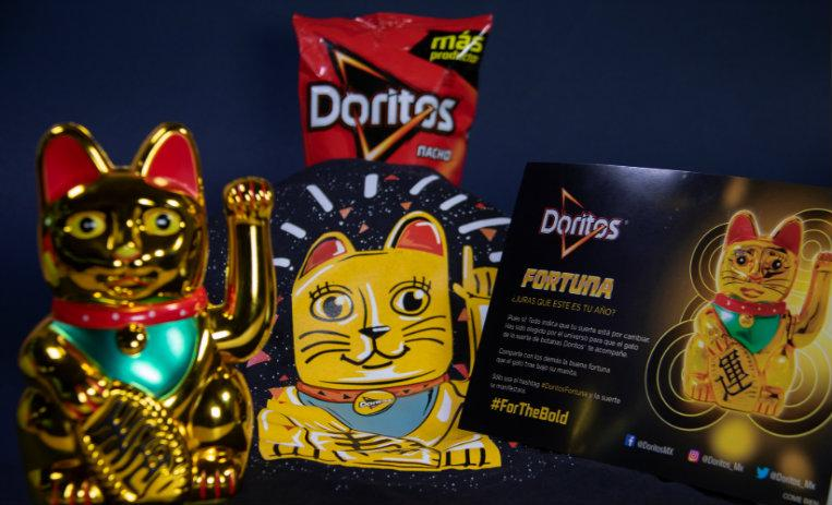Trivia, Doritos, gato de la fortuna, Doritos fortuna, gato de la suerte, gato chino, For the blod, botana,
