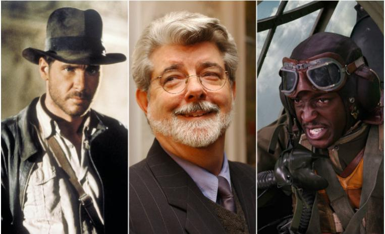 george lucas, peliculas, cine, director, indiana jones, red tails, películas de george lucas, ciencia ficcion