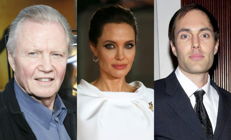 Angelina Jolie, relaciones familiares, radicales, actriz, Jon Voight, James Haven,