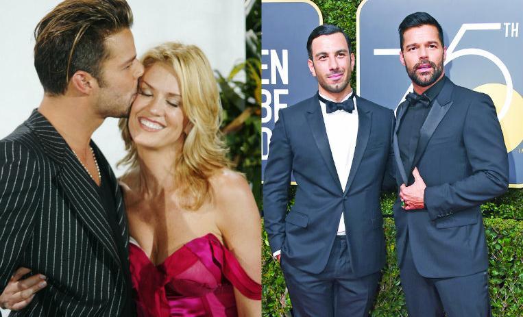 2ec90e0229305 Las mujeres y hombres en la vida amorosa de Ricky Martin