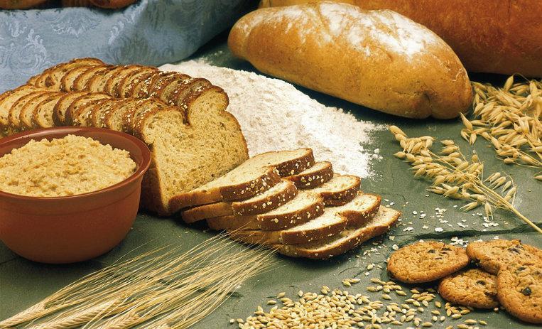 Saludable dieta cereales para