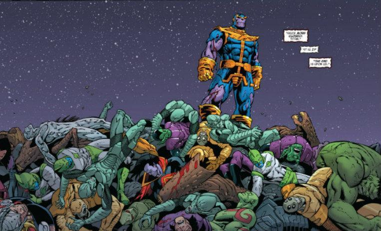 10 Crímenes Atroces Cometidos Por Thanos En Los Cómics De10