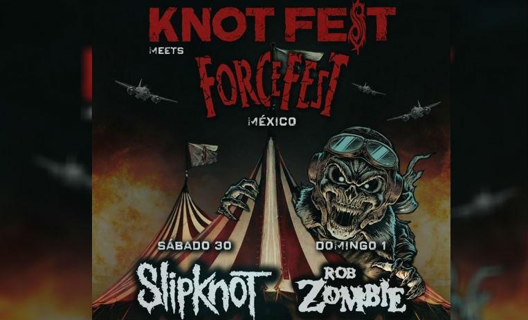 Slipknot y Rob Zombie estarán en México