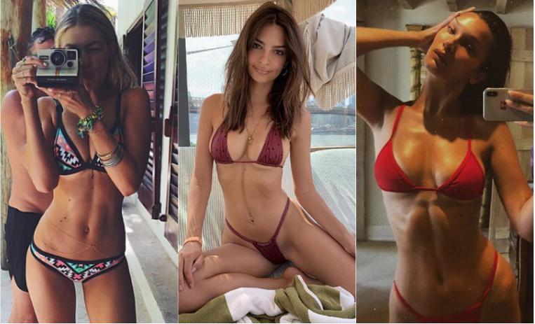 Los 10 Bikinis Más Atrevidos De Las Famosas De10