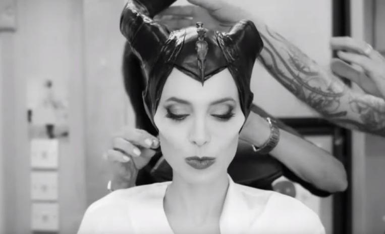 Así es la transformación de Angelina Jolie en Maléfica