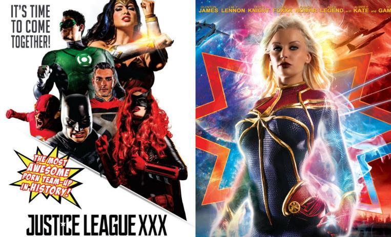 10 superhéroes de Marvel y DC que tienen su versión XXX | De10