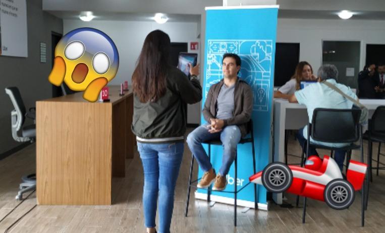 'Checo' Pérez se registra como conductor de Uber