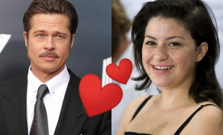 Una actriz de 30 años habría conquistado a Brad Pitt