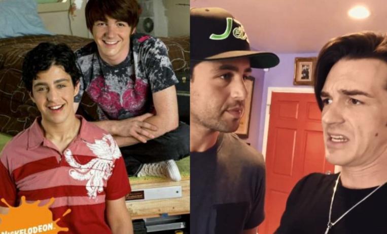El Antes Y Despues De Los Personajes De La Serie Drake Y Josh De10