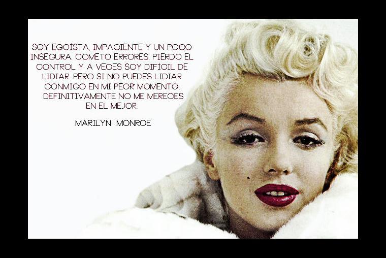 Marilyn Monroe 10 Frases De Sensualidad E Inteligencia De10