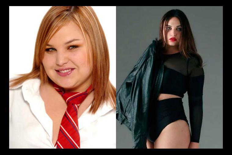 perdida de peso antes y despues famosos