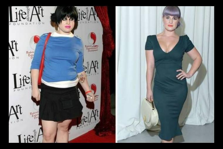 Adelgazar 20 kilos antes y despues de famosos