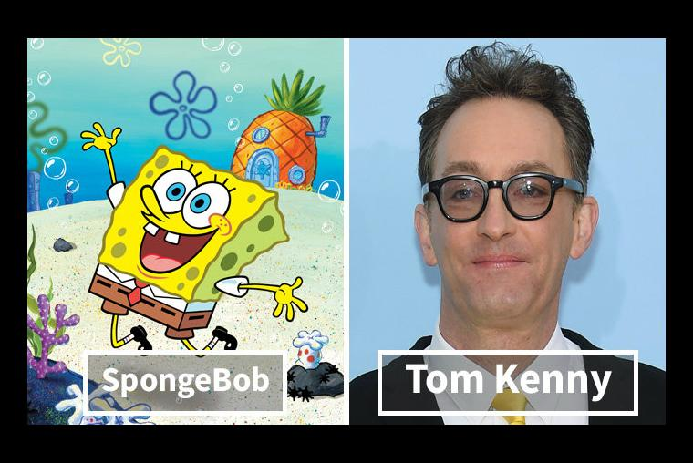 Bob Esponja, Tom Kenny