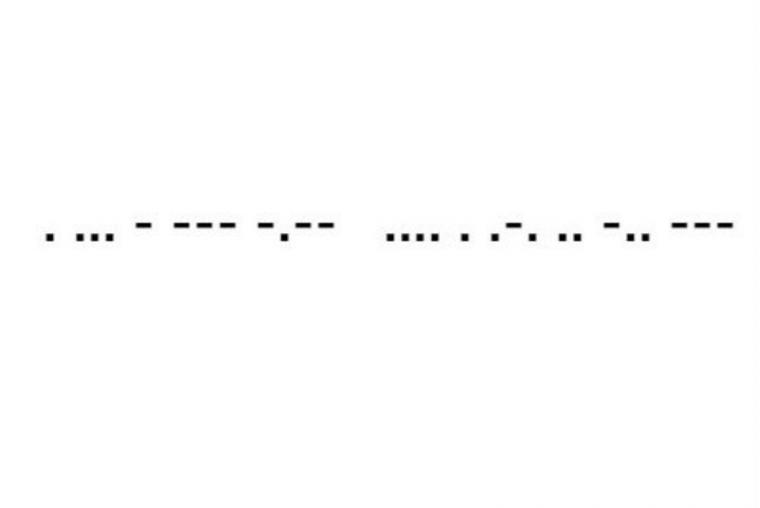 10 Frases En Código Morse Que Pueden Salvarte La Vida De10