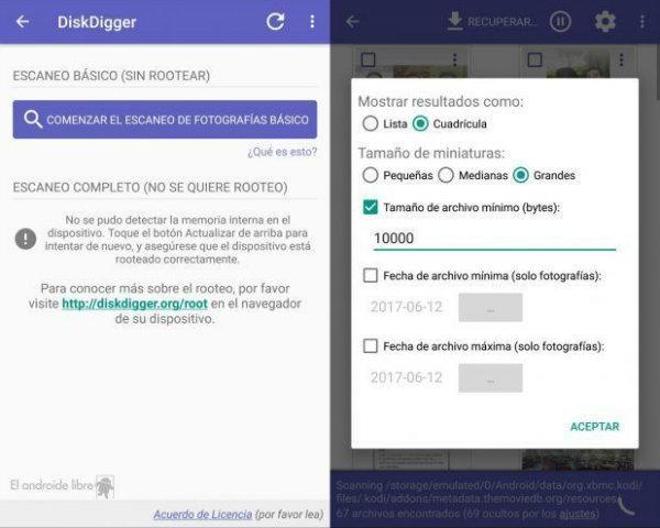 App, DiskDigger,