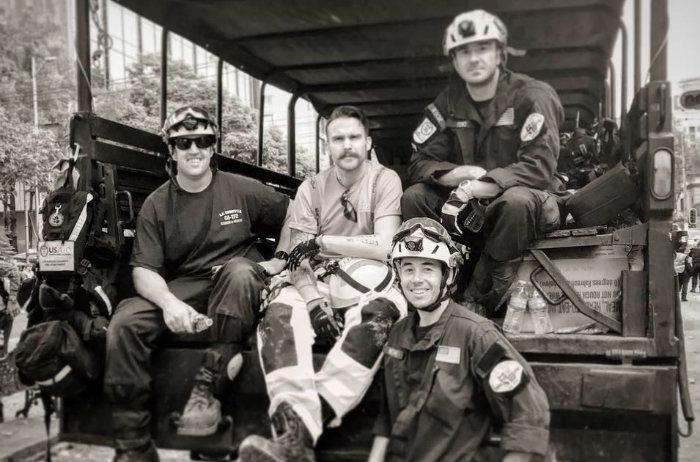 Paul Fitz, bombero, CDMX