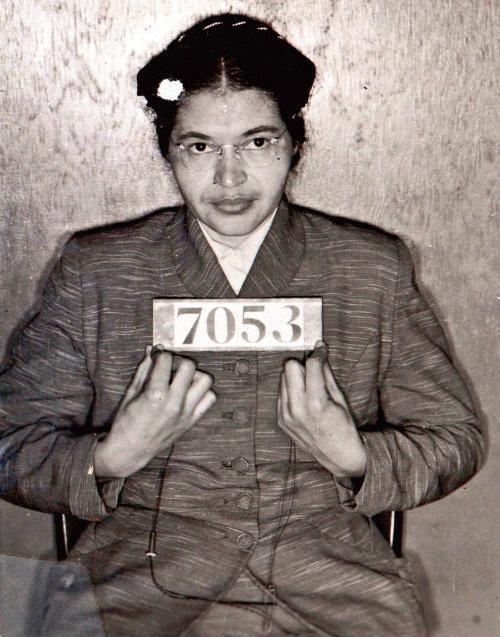 Rosa Parks, detenida