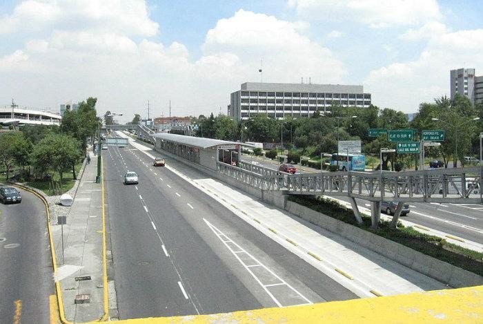 Avenida de los insurgentes, sur, Metrobús, CDMX,