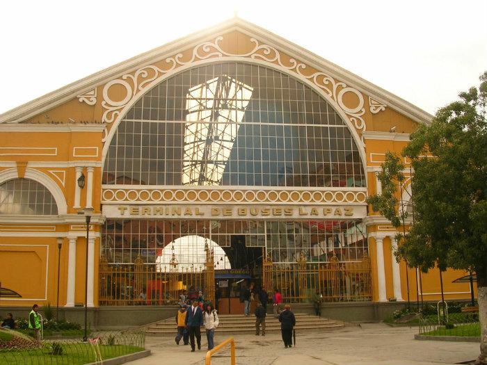 Terminal de Autobuses, Bolivia, La Paz,