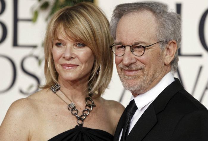 Steven Spielberg, director de cine, esposa, Kate Capshaw, fortuna, millonario,