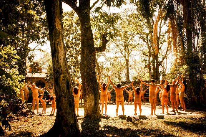 Festival Nudista, Zipolite 2018, fuera ropa, nudismo, playa, Oaxaca, México