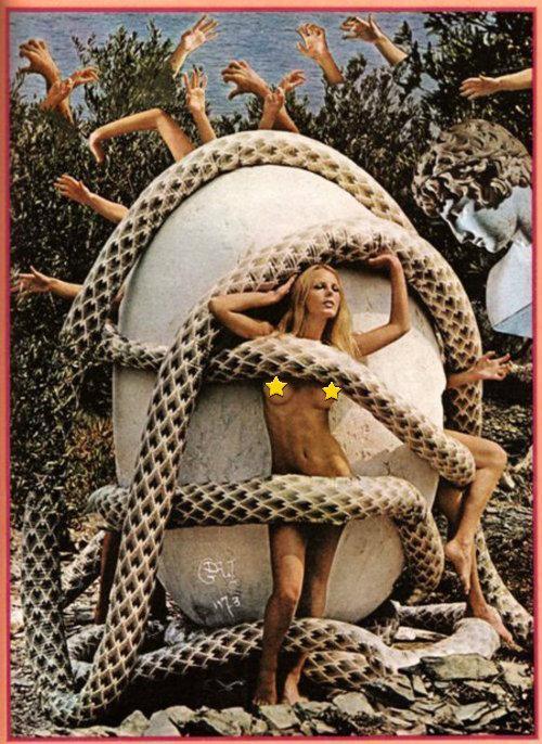 Salvador Dalí, rodeado, conejitas de Playboy, sesión fotográfica,