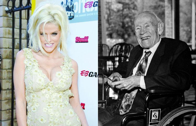Anna Nicole Smith y J. Howard Marshal (Fotos  El Universal  AP) 827b0286ca