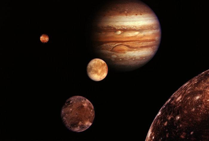 lunas de Júpiter, descubrimiento, Galileo Galilei,