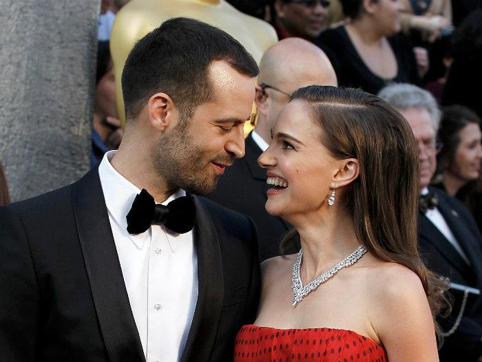parejas, celebridades, esposos de famosas, benjamin millipied, natalie portman
