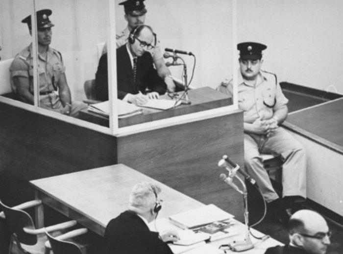 Adolf Eichman, solución final, exterminio judío, nazis, juicio,