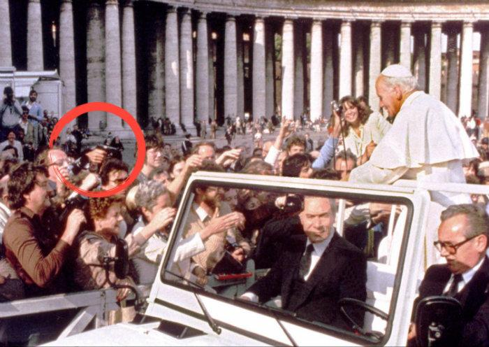 Juan Pablo II, atentado, Roma, pistola, Ali Agca,